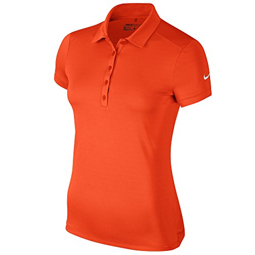 Nike Victory Solid Golf Polo Ladies Team Orange X-Large ()