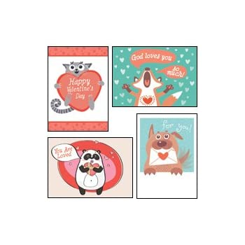 Amazon Com God Wuvs You Kjv Scripture Greeting Cards Boxed