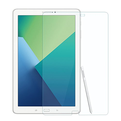 Price comparison product image Samsung Tab A 10.1 with S Pen Screen Protector, CINORS 2.5D 9H Tempered Glass Screen Protector ONLY for Samsung Galaxy Tab A 10.1 with S Pen SM P580(2016) ,Hassle Free Warranty