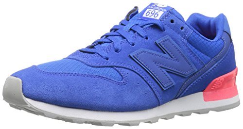 New Balance Women 696 v1 Sneaker Blue/Energy Red