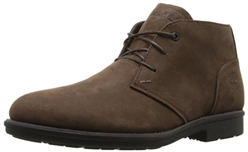 Timberland Men's Carter Notch PT Chukka WP Boot, Medium Brown Full Grain, 12 M US
