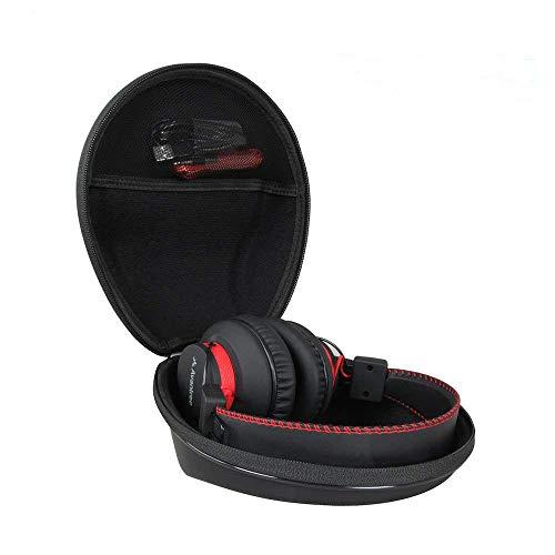 Hermitshell Hard Travel Case Fits Avantree 40 hr/Mpow H1 Wireless Wired Bluetooth Over Ear Headphones