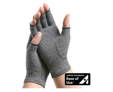 (IMAK Compression Arthritis Gloves- Premium Arthritic Joint Pain Relief Hand Gloves for Rheumatoid & Osteoarthritis - Ease of Use Seal from Arthritis Foundation,Medium)