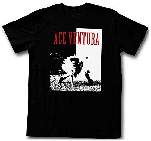Ace Ventura - Ace T-Shirt - Schwarz