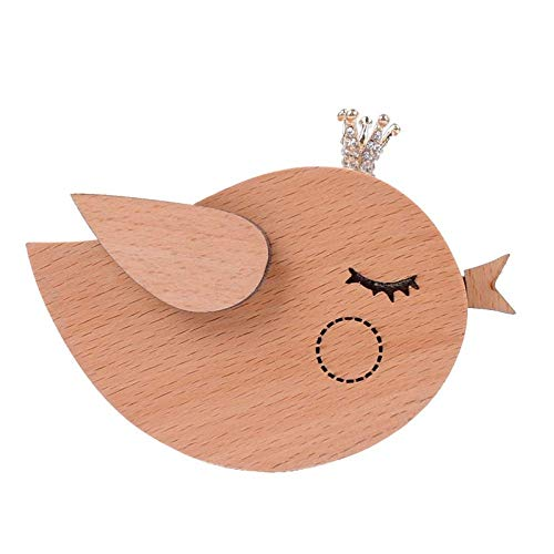 (Doppelt Wooden Musical Box Classic Antique Carved Wood Music Boxes Birthday for Kids Children Girls (Bird))
