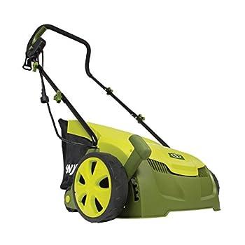 "Sun Joe Aj801e 12 Amp 12.6"" Electric Scarifier Plus Lawn Dethatcher With Collection Bag 1"