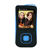 Riptunes MP1857 2GB MP3 and Video Player with 1.8-Inch Full Color Display (Black/blue)