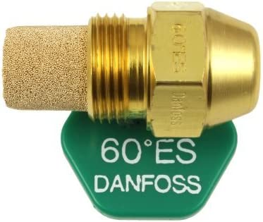 Danfoss Aceite Despedida Hervidor Quemador Boquilla 0.85 x 60 ES USgal//h /° Grados Espray Estampado Calefacci/ón Jet 2.55 Kg//h