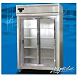 Continental Refrigerator DL2RS-SGD Dl2r-Ss-Gd 52 Glass Door Reach-In Refrigerator-DL2RS-SGD