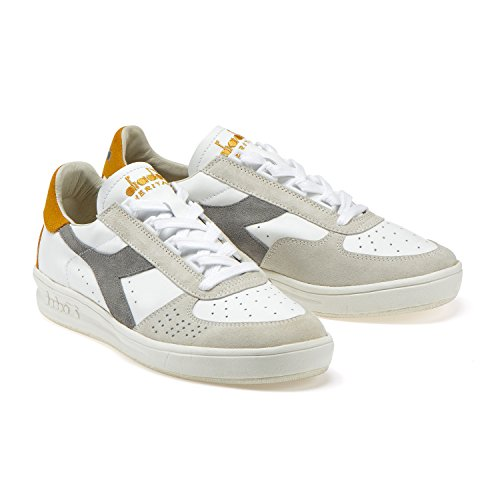 e GIALLO B C7458 Diadora Donna VECCHIO L GRIGIO per Heritage Sneakers Elite ORO S Uomo PIOGGIA nqvwxE8Ovg