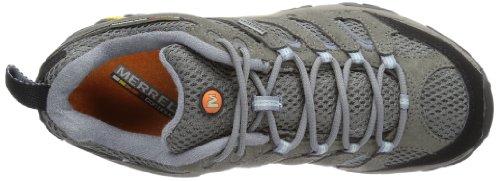 Merrell MOAB Grey cuero Zapatos Periwinkle GTX de de senderismo mujer ffwrO7