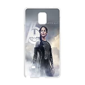 Samsung Galaxy Note 4 Cell Phone Case White he75 hunger game jennifer lawrence sexy poster Cmtac