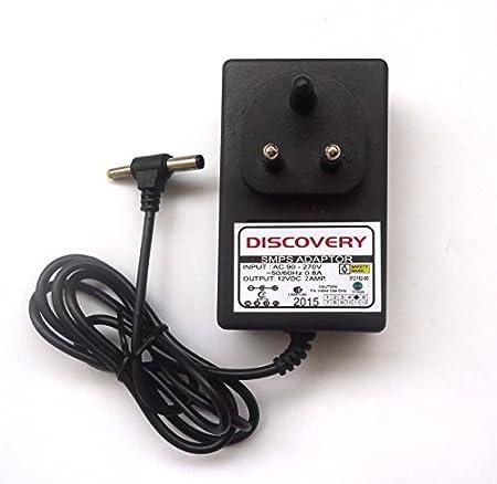 12V 2Amp DC Adopter for CCTV camera modem LED strip lighting and multipurpose Modems at amazon