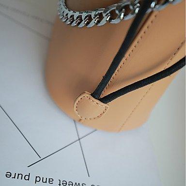 YJIUX Womens moda clásica bolsa Crossbody, gris Gray