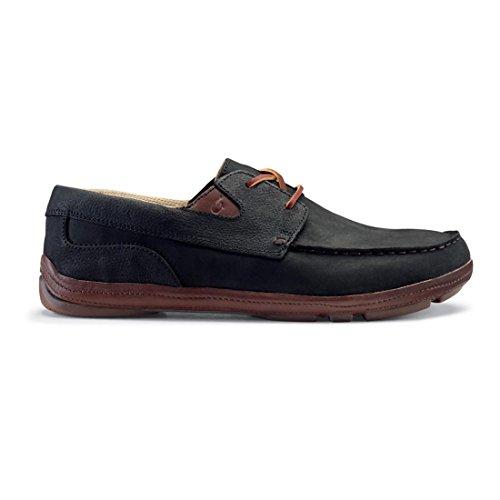 homme pour bateau OluKai Black Coffee Chaussures Kona zqHSB