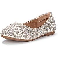 DREAM PAIRS Girls Toddler/Little Kid/Big Kid MUY Mary Jane Ballerina Flat Shoes