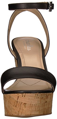 Wedge Sandal Charles Black David Women's Lilla by Charles HXTUqwq