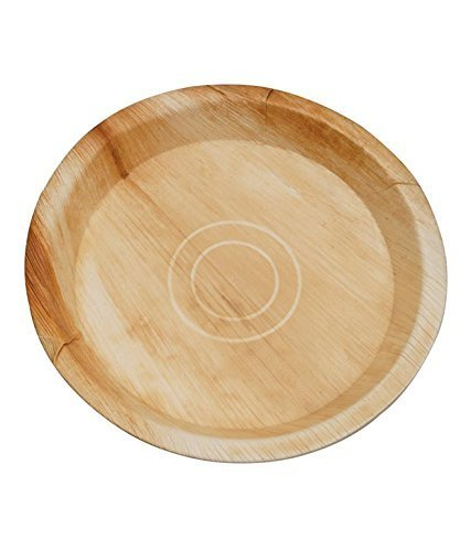 CaterEco | 7-inch Deluxe Round B07N86FVG6 Palm Round Leaf Plates Set (100 Pack) | Ecofriendly Disposable Dinnerware | Heavy Duty Biodegradable Party Utensils for Wedding Camping & More [並行輸入品] B07N86FVG6, ballistik バッグ&リュックの通販:ce1055e5 --- gallery-rugdoll.com