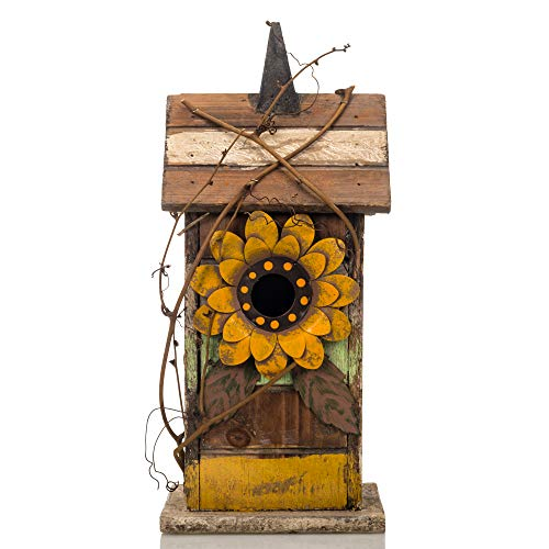 - Your Heart's Delight Your Sunflower Accent Birdhouse, Multi