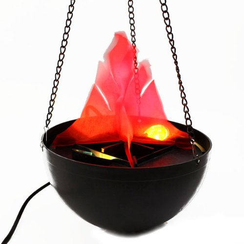 [BoatShop Halloween Pendant Fire Pit lamp Flame Lamp Decoration Chandelier] (Creative Costume Ideas For Men)