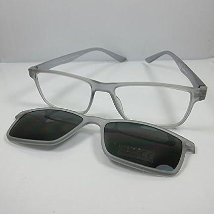 MT Gafas de Lectura + 3,5 con clip magnético tintada UV400 ...