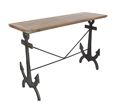 Deco 79 84280 Metal and Wood Console Table 48