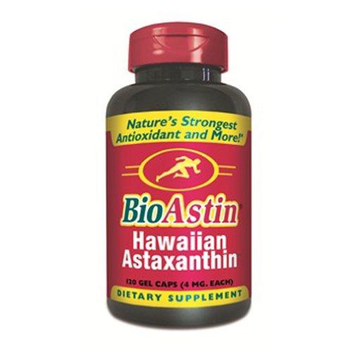 BioAstin 120 Kapseln à 4mg natürl. ASTAXANTHIN, das Original aus Hawaii