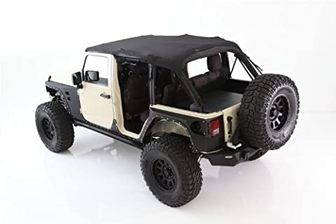 Smittybilt 93600 Extended Top Mesh No Drill Installation Requires PN[90104] If Vehicle Does Not Have Windshield Channel Extended - 90104 Windshield