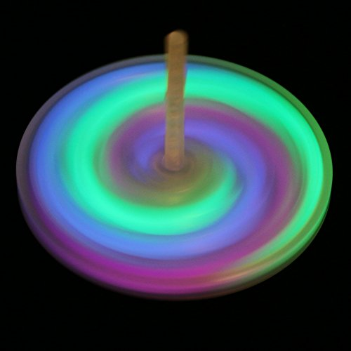 (Fun Central BC690 Glow Spinning Top - 3pieces)