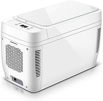 カー冷蔵庫、小型デュアルコア家庭用冷蔵庫、11L大容量冷蔵庫、家庭用+車兼用冷蔵庫、ホワイトフリーザー
