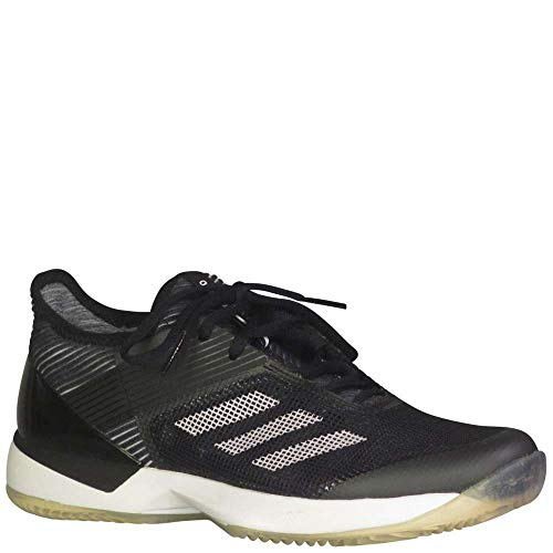 adidas Women's Adizero Ubersonic 3 w Clay Tennis Shoe White/core Black, 9 M US
