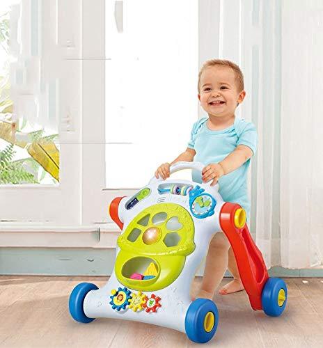 LZX Baby Walker primeros pasos actividad Walker Trolley juguetes niños niños y niñas