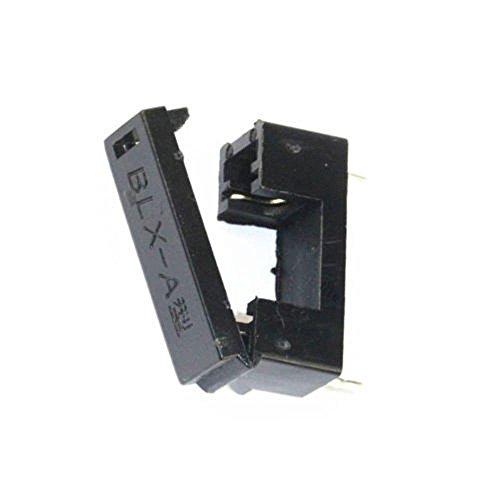10pcs BLX-A Type PCB Mount Fuse Holder 5mm x 20mm 15A/125V Solder Holders ()