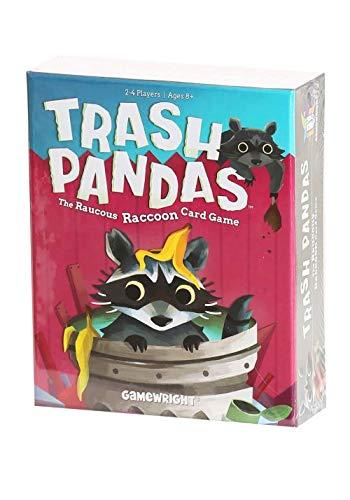 - Gamewright  Trash Pandas - The Raucous Raccoon Card Game - 252