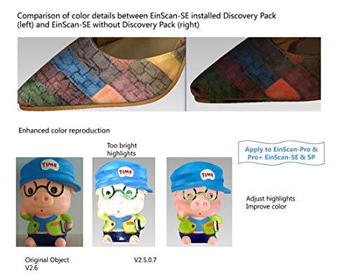 EinScan Discovery Pack for EinScan SE & SP Desktop 3D Scanners