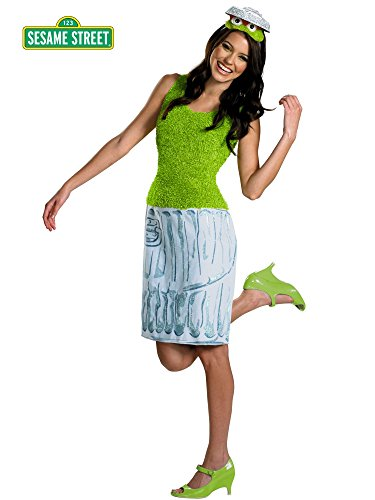 Adults Sesame Street Oscar The Grouch costume for Women (Sesame Street Oscar The Grouch Costume)
