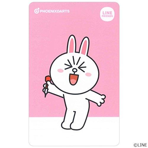 PHOENIX(フェニックス) PHOENicA CARD(フェニカカード) × ラインフレンズ 第2弾 (ダーツアクセサリ フェニックスカード) F コニー