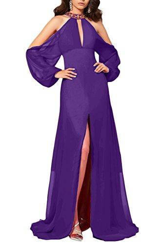 Fest Quinceanerakleider Modisch Hochzeit Pronmkleid Abendkleid Violett Hochtaille Damen Party Ivydressing X8Spxp