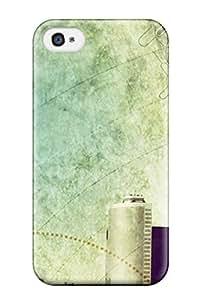 Premium Tpu Bleach Cover Skin For Iphone 4/4s
