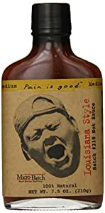 Pain is Good Batch #218 Louisiana Style Hot Sauce, 7.5 Ounce