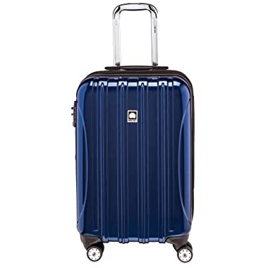 Delsey Luggage Helium Aero Carry-On Spinner Trolley, Blue, One Size