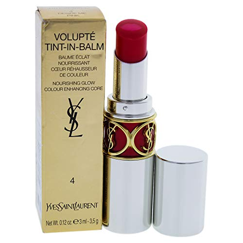 Yves Saint Laurent Volupte Tint In Balm, 4 Desire Me Pink, 0.12 Ounce