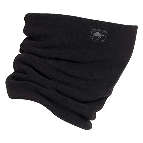 Turtle Fur - Double-Layer Neck Warmer, Chelonia 150 Fleece, Black (Turtle Fur Frost Mask)