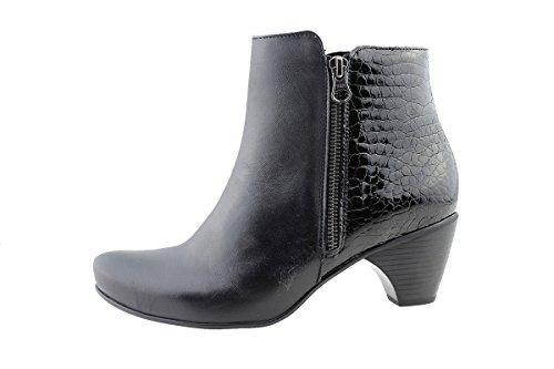 Cómodo Piesanto Botín Mujer Zapato 175880 Negro 4pqHId