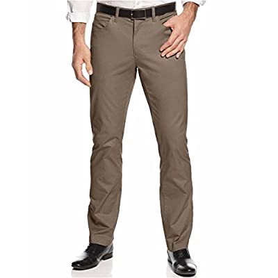 Alfani Men's Big and Tall Cotton Stretch Pants hot sale