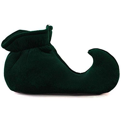 [Toddler Green Jester Costume Shoes] (Toddler Renaissance Costumes)