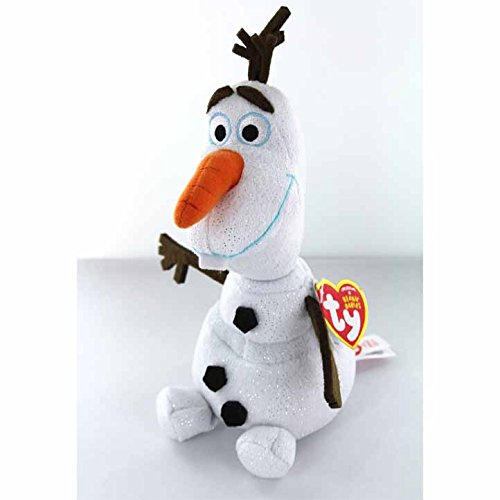 Amazon.com  Ty Beanie Babies Sven Reindeer and Olaf Snowman Set of 2 Winter  Holiday Christmas 2014 toys with Bonus Frozen Olaf Sticker  Toys   Games ca20e167367