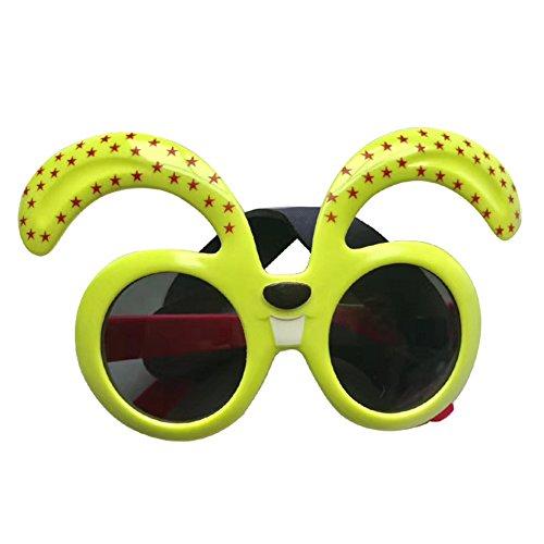 Pet Glasses Dog Cartoon Sunglasses for Golden Retriever Samoyed Big Dog Eye Wear Protection - Cartoon Sunglass