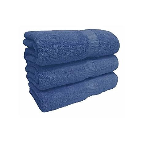 Sabanalia - Toalla 500 Grs. Soft (Disponible en varios colores y tamaños) - Lavabo 50x100, Indigo: Amazon.es: Hogar