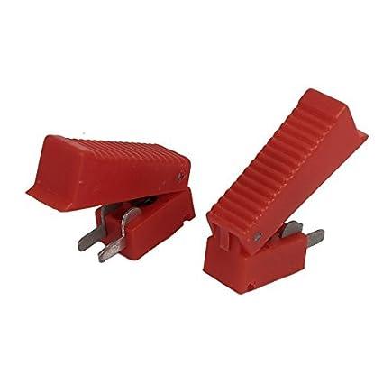 eDealMax 37 mm Largo Red Shell CO2 pistola de soldadura cortador gatillo del interruptor 2 piezas - - Amazon.com